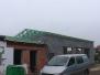 Montáž krovu garáže, Lanžhot
