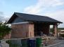 Montáž střechy, garáž Týnec
